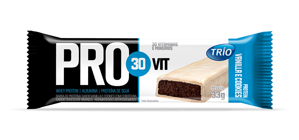 Barra Trio Protein Pro Vit 30 33gr