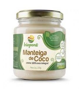 Manteiga de Coco Bioporã - 210gr