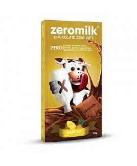 Chocolate Zero Milk Abacaxi - 80gr