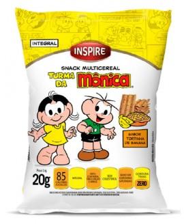 Snack Multicereal Inspire Turma da Monica - 20gr