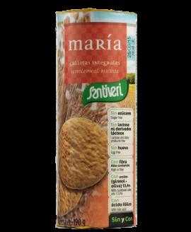Bolacha Maria Sem Açúcar Santiveri - 190gr