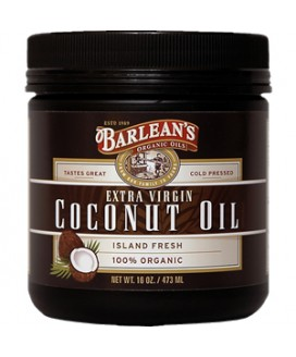Óleo de Coco Extra Virgem Coconut Oil Barlean´s 473ml