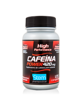 Cafeina Powder Stem Pharmaceutical - 120cp