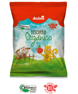 Biscoito Maçã Dodani Orgânicos - 30gr