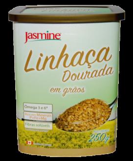 Linhaça Dourada em Grãos Jasmine - 250gr