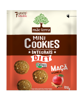Cookie Integral Diet  Mãe Terra - 120gr