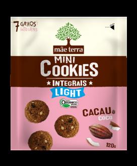 Cookie Integral Orgânico Light Mãe Terra - 120gr