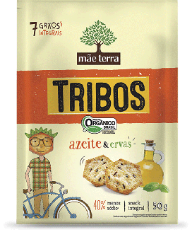 Snack Tribos Orgânico Mãe Terra - 50gr