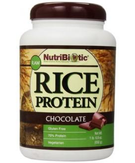 Rice Protein NutriBiotic (proteina Vegan de Arroz) - 650gr