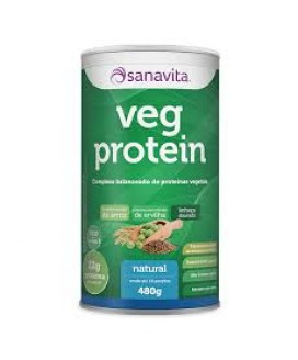 Veg Protein Sanavita Natural  - 480gr
