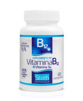 Vitamina B-12 Stem Pharmaceutical - 500mg - 60cp