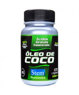 Óleo de Coco Stem Pharmaceutical 1000mg - 120cp