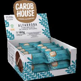 Alfarroba Biscoito de Arroz Carob House - 10gr