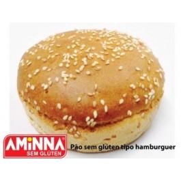 Pão Hamburguer Sem Glúten Aminna - 75gr