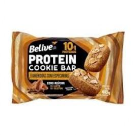 Protein Cookie Bar Amêndoas com Especiarias Belive - 48gr