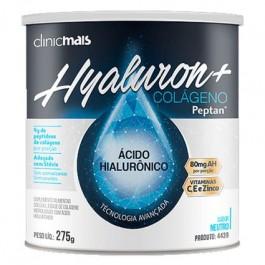 Hyaluron+ Colágeno com Ácido Hialurônico Clinicmais - 275g