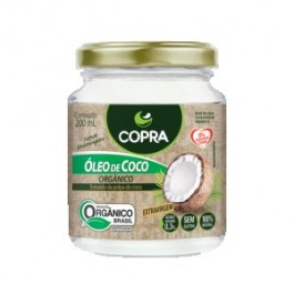 Óleo de Coco Organico Copra - 200ml