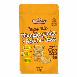 Chip Mandoquinha + batata Doce Da Colonia - 50gr