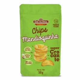 Chip de Mandioquinha Da Colonia - 50gr