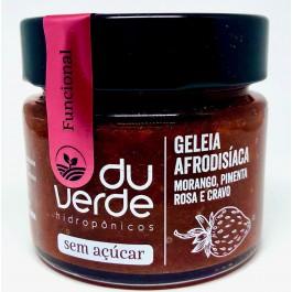 Geléia Morango Afrodisíaca Zero Açúcar Du Verde - 210gr