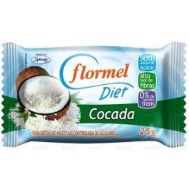 Cocada Diet Flormel 25gr