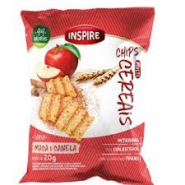Chip Multicereal Inspire Alimentos Doce - 20gr