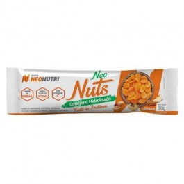 Barra Neo Nuts Colageno Damasco Neonutri - 30gr