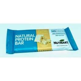 Barra Natural Protein Chocolate Branco Nutriarts - 50gr
