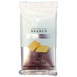 Chocolate Branco Zero Açucar Salware - 30gr