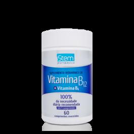 Vitamina B-12 Stem Pharmaceutical - 500mg - 60cp