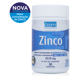 Zinco 29,50 mg Stem Pharmaceutical - 30cp