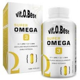 Super Omega 3 1000mg VitOBest - 100softgel