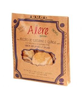 Biscoito de Castanha e Quinoa Defumado Alere Gourmet - 70gr