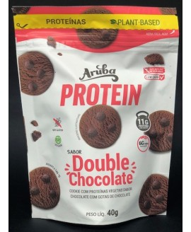 Biscoito Protein Low-Carb Double Chocolate Aruba - 40gr