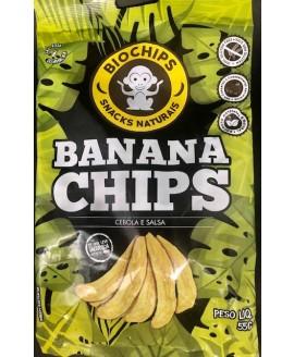 Bio Chips Banana Chips - 55gr