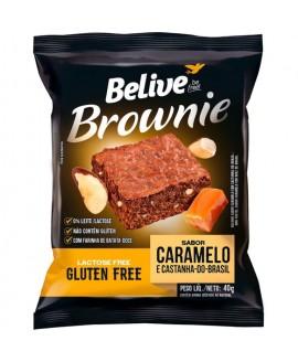 Brownie Caramelo com Castanha do Brasil Belive - 40gr