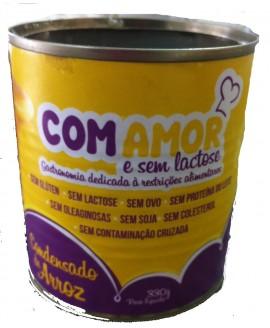Leite Condensado Com Amor Vegano - 330gr