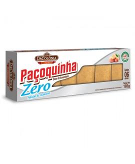 Paçoca Rolha Zero Açúcar Da Colônia - 102gr