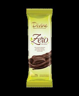 Chocolate Zero 50% Cacau Divine - 20gr