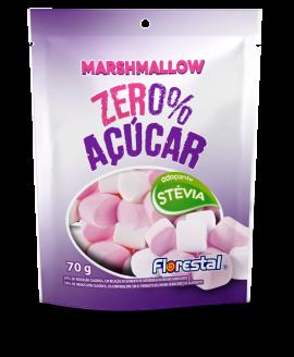 Marshmallow Morango Zero Açúcar Florestal - 70gr