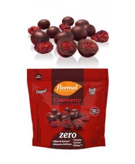 Drageado Cranberry com Chocolate Flormel - 30gr