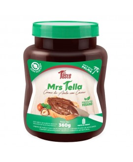 Mrs Tella Creme Chololate Avelã Mrs Taste - 360gr