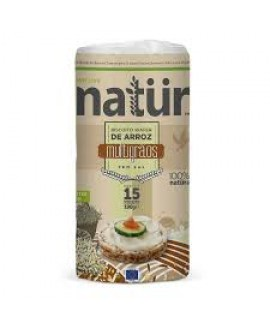 Biscoito Orgânico Sem Glúten de Arroz Multigrãos Natür - 100gr