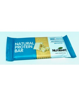 Barra Natural Protein Chocolate Branco Nutriarts - 50gr