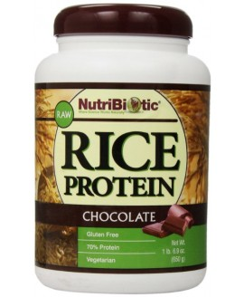 Rice Protein NutriBiotic (proteina Vegan de Arroz) - 650gr