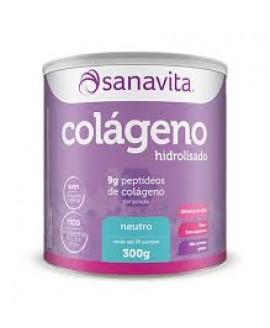 Colageno Hidrolisado Sanavita - 300gr