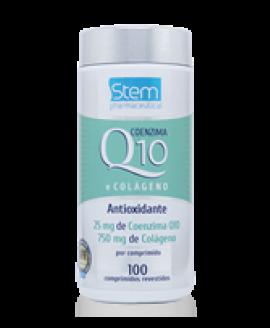 Colágeno com Coenzima Q10 Stem Pharmaceutical - 100cp