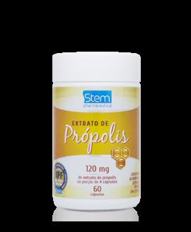Extrato de Própolis Stem Pharmaceutical 120mg - 60cp