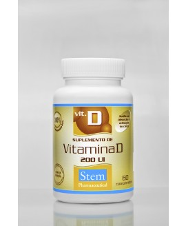 Vitamina D Stem Pharmaceutical - 60cp