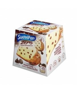 Panetone Gotas Chocolate Zero Suavipan - 250gr